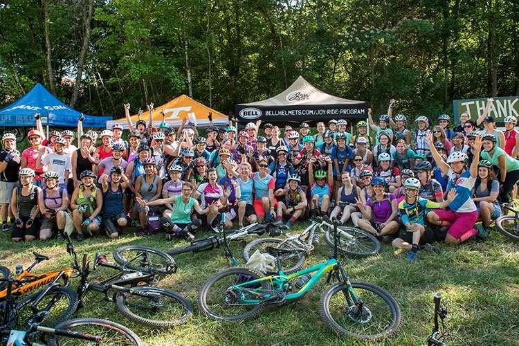 Bell expands 2017 Joy Ride women s mountain bike program 469883dee